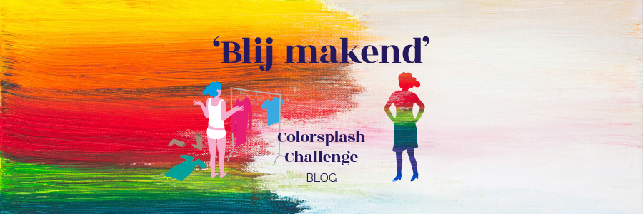 Colorsplash Challenge – Blij makend!